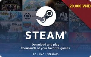 Steam Wallet Code 20.000 VNĐ